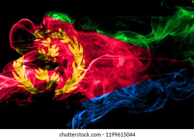 Eritrea 2018 images stock photos vectors shutterstock eritrea colorful smoking flag 2018 m4hsunfo