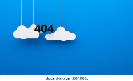 Error 404 God not found background 3d