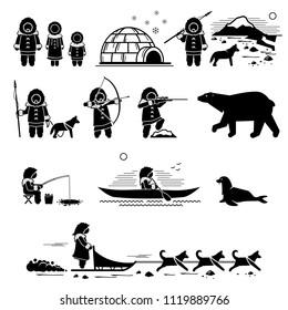 Eskimo Pictograms