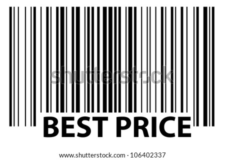 Especially Generated Barcode Best Price Stock Illustration 106402337