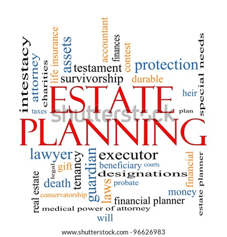 estate planning word cloud concept greatのイラスト素材 96626983