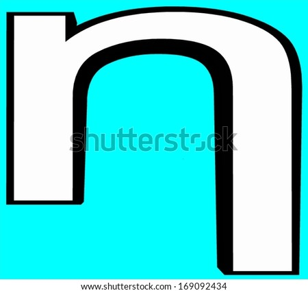 Eta Greek Letter Greek Alphabet Script Stock Illustration 169092434