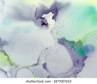 Ethereal Art Pattern. Liquid Ink Wash Background. Purple Creative Stains Splash. Sophisticated Flow Effect. Ethereal Paint Pattern. Alcohol Ink Wash Background. Mauve Ethereal Water Pattern.
