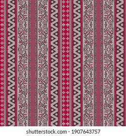ethnic border for suit and kurtis zig zag pattern and flower