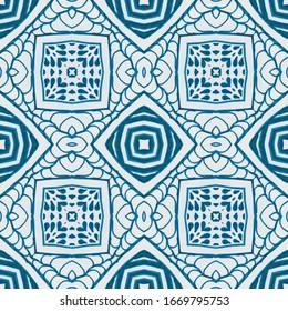 Ethnic Ornament Element. Native american. Winter Blue Lace. Aquarelle Texture Splashed Baner. Blue Ethnic Pattern White blue Art Backdrop Crumpled texture Aquarelle Art.