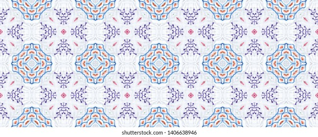 Ethnic seamless pattern. Delicate print for fabric.  Modern ornament. Geometry style. Boho background.