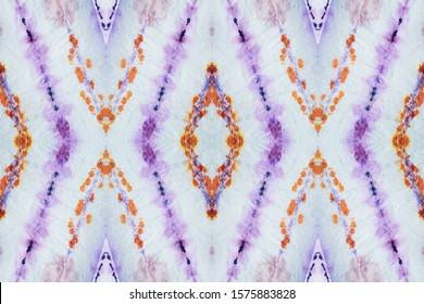 Ethnic Stripes. Purple Indonesian Print. Burgundy Design Template. Indigo Swimwear Stripe. Lavender Ink Chinese Art. Shibori Pattern. Fuchsia Ikat Zigzag Tile. Amethyst Tie And Dye Art.