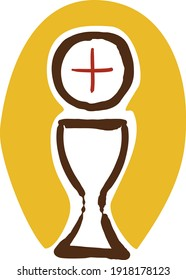 The Eucharist is the body and blood of Our Lord Jesus Christ