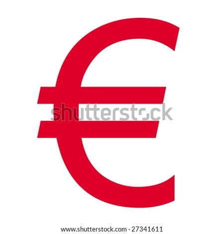 Euro Money Symbol Stock Illustration 27341611 Shutterstock