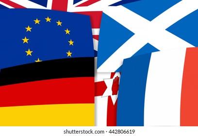 Europe north irland germany scotland france United Kingdom