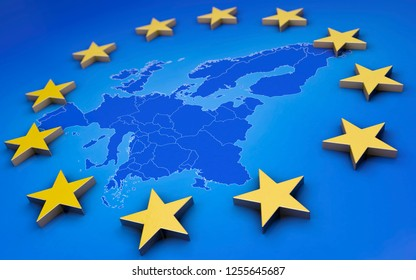 Europe Union 3D
