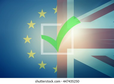 Europe and United Kingdom Tick Check Voting