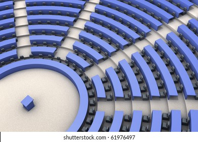 european parliament room