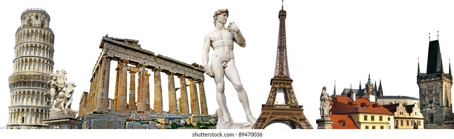 european travel background