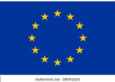 European Union flag country official dimensions