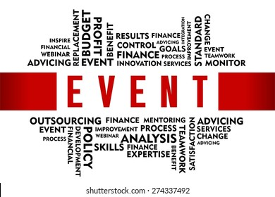 EVENT word with business concept