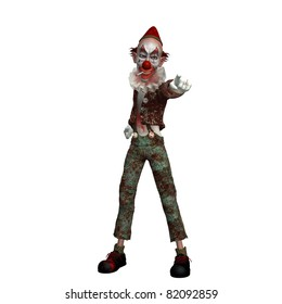 evil cartoon clown
