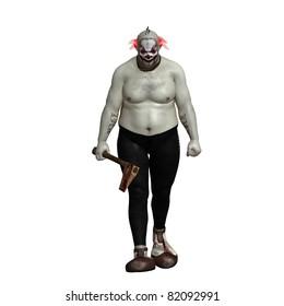evil scary creepy clown