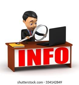 Examination of information