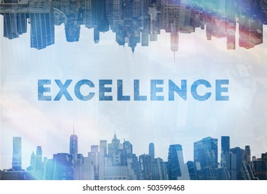 Excellence concept image