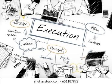 Execution Word Illustration