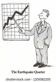An executive shows profit during a difficult quarter