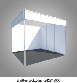 exhibition stand booth kiosk partition event