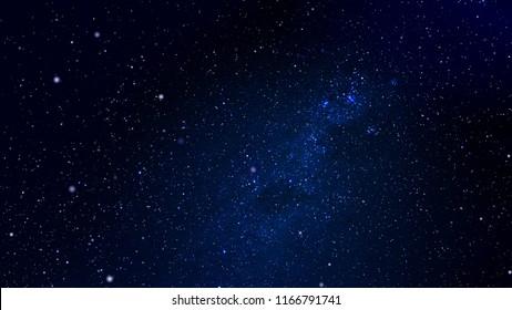 Exploration of Universe. Infinite Universe. Space background. 3D illustration