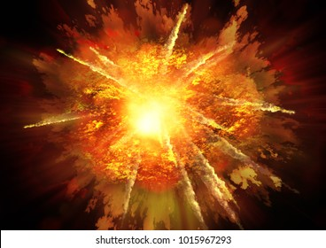 Explosion War Anger