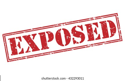 exposed stamp