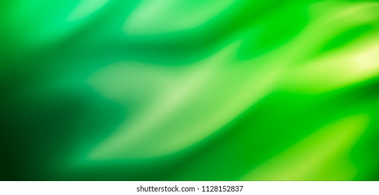 Expressive green abstract background. Dynamic texture, the atmosphere of the elements, strength, energy.