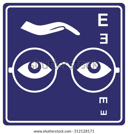 28306706a41 Eye Care Sign Business Sign Opticians Stock Illustration 312128171 ...