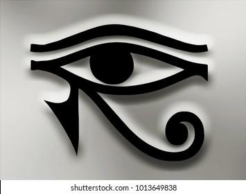 eye of horus egyptian symbol