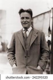 F. Scott Fitzgerald, (1896-1940) in 1928.