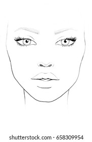 photograph relating to Printable Face Charts named Confront Chart Pics, Inventory Photographs Vectors Shutterstock