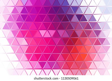 Fade triangles. Bright graphic watercolor abstract background. Pink and purple colors. Art design with little liquid effect. Good for decoration of print production. Pattern for creative products.