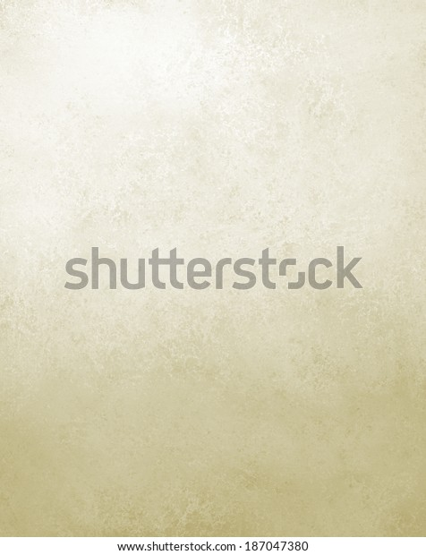 Faded Off White Background Texture Old Stock Illustration 187047380