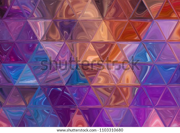 Faded triangles texture background. Good for any printed production, print on fabric, clothes and ceramic. Template for design products decoration.