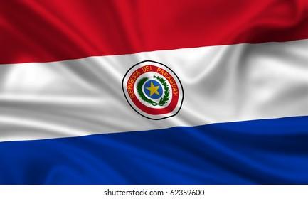 Fahne Flagge Paraguay