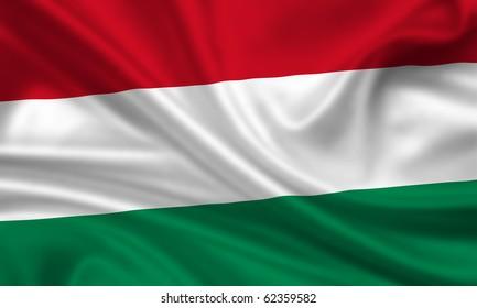 Fahne Flagge Ungarn