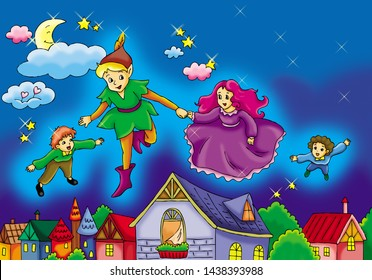 Fairy Tales:Peter Pan,Avanti,Ugly Duckling,Snow White,Alice,Oz