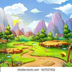 Unduh 55 Background Kartun HD Gratis