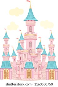 FairyTale castle. Air-Castle