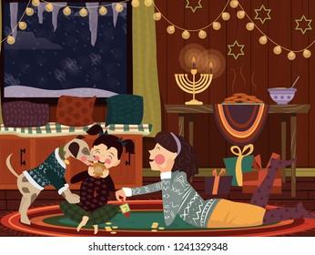 Family Hannukah Celebration