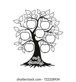 1000 biography template pictures royalty free images stock Infographics Timelines Examples family tree apple tree silhouette and hand drawn calligraphy our family for