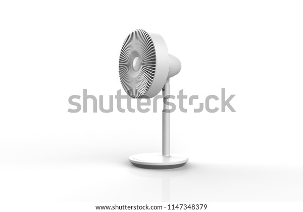 fan 3d rendering