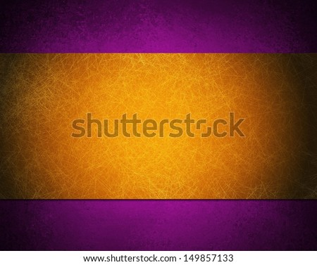 Fancy Elegant Purple And Gold Background Royal Color With Ribbon Luxury Space