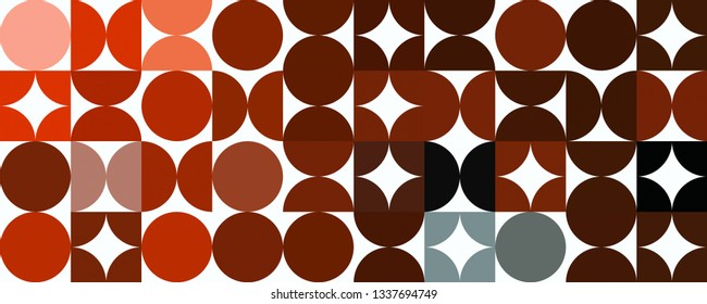 Fantastic abstract powerful panorama background pattern