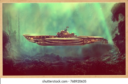 947b30342f2f Fantastic Submarine Images, Stock Photos & Vectors | Shutterstock