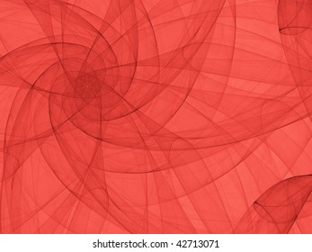 Fantasy abstract graphics created with curved lines.